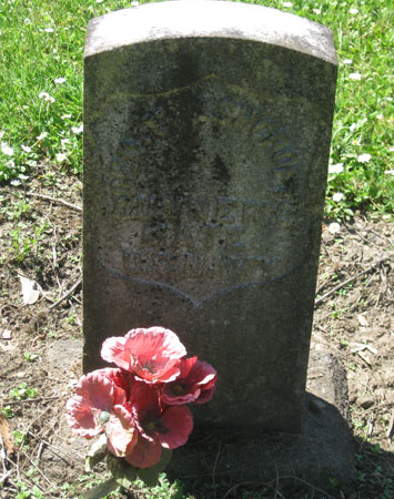 George Thomas Ashcroft marker
