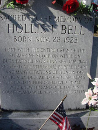 Hollis Fields Bell marker