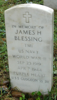 James H. Blessing - Marker