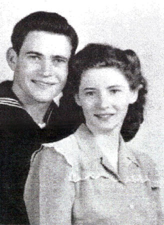 Raymond Lloyd Hughes and his wife, Glenna