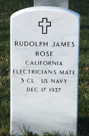 Rudolph James Rose marker