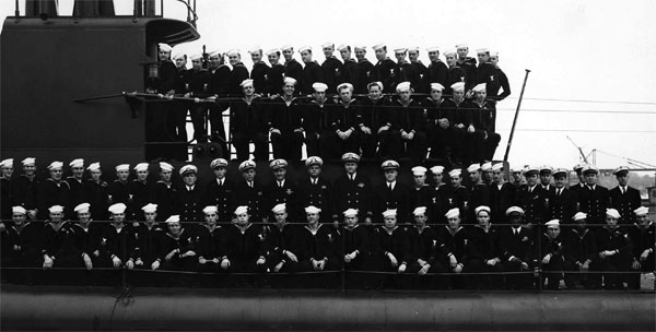 USS Robalo Commissioning Crew